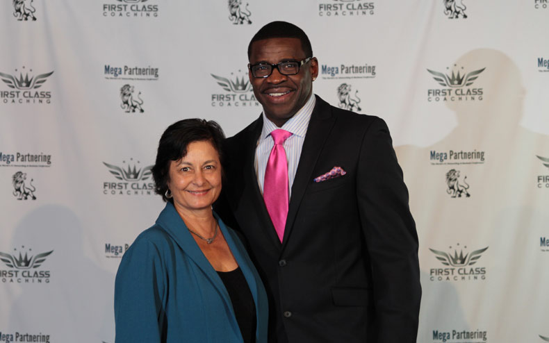 Michael Irvin and Louise McKaig